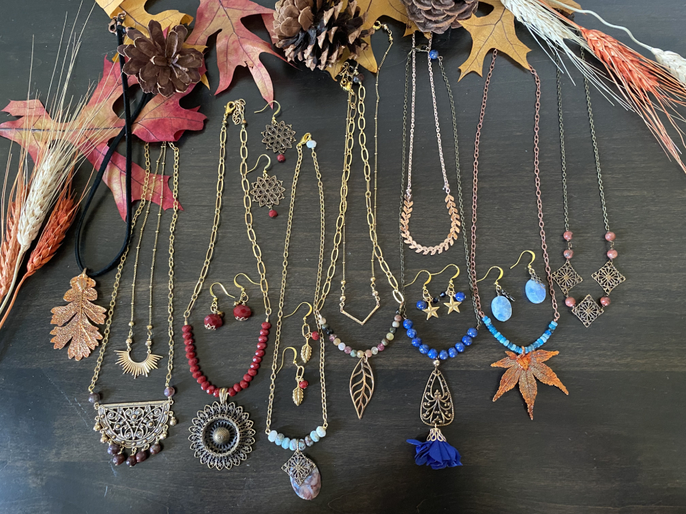 autumnal bliss fall jewelry collection